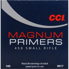 CCI 450 Small Rifle Magnum Primer