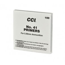 CCI #41 Military Small Rifle Primer 5.56mm