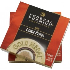Federal Premium Gold Medal Large Pistol Match Primers 150M
