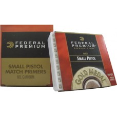 Federal Premium Gold Medal Small Pistol Match Primers 100M